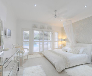 bedroom, white, and wish image