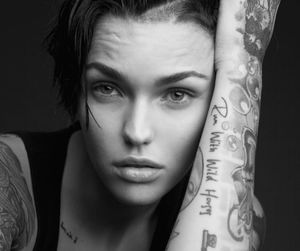 ruby rose, lesbian, and rose image