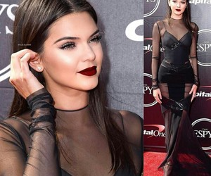 dress, women, and kendall jenner image