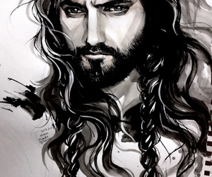 art, hobbit, and thorin image