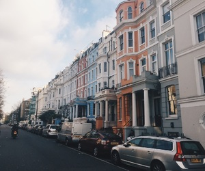color, Houses, and london image