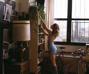 girl, photography, and room image