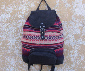 etsy, backpacks, and leather backpack image