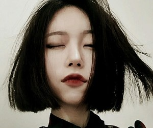 asian, girl, and grunge image