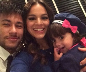 Barca, couple, and neymar jr image