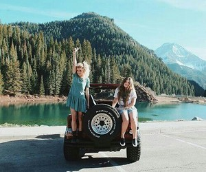adventure, Road Trip, and friends image