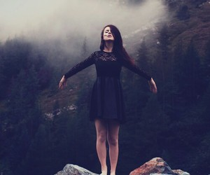 girl, free, and dress image
