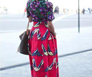 africa, African, and black woman image