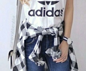 adidas, stamped, and fashion image
