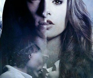 city of bones, clary, and jace image