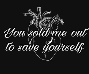 heart, lost, and quotes image