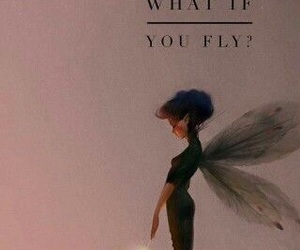 fairy, fly, and girl image