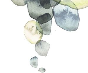 abstract, green, and watercolor image