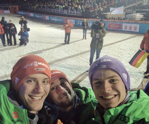 ski jumping, team germany, and andreas wellinger image