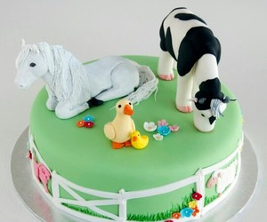 cake, cakes, and farm image