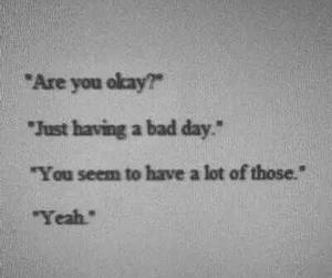 sad, quotes, and bad image
