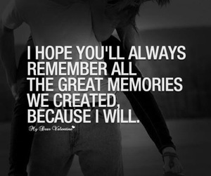 memories, quotes, and words image