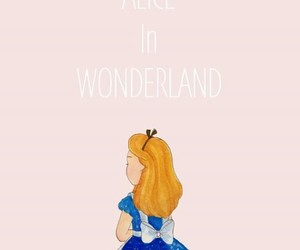 alice, art, and pink image