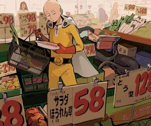 one punch man and saitama image