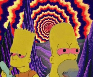 bart, trip, and drugs image