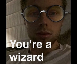 harry potter, 5sos, and hadsome image