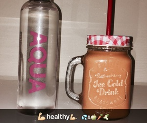 healthy, sport, and smoothie image