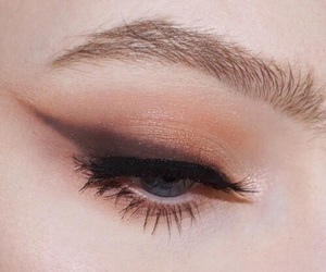aesthetic, eyebrows, and eyelashes image