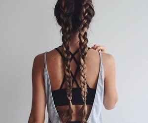 braids, fashion, and fit image