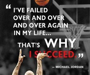 quotes, life, and michael jordan image