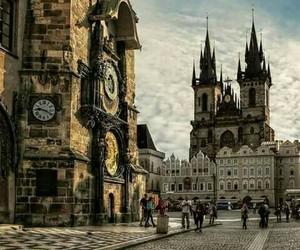 prague, czech republic, and travel image