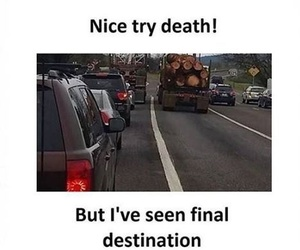 cool, laugh, and death image