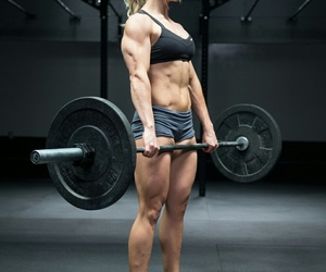 fit, gym, and crossfit image