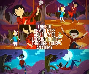 marshall lee, adventure time, and vampire image