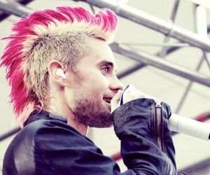 30 seconds to mars, Mohawk, and thirty seconds to mars image