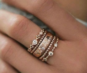 ring, rings, and jewelry image