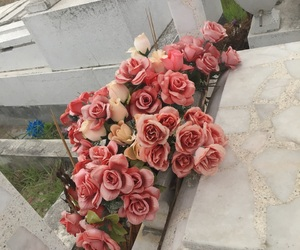 beautiful, cementery, and flowers image