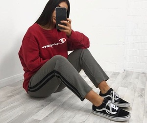 fashion, tumblr, and vans image