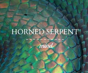 ilvermorny and horned serpent image