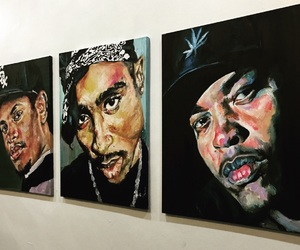 2pac, art, and Dr Dre image
