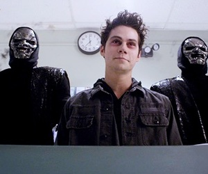 teen wolf, dylan o'brien, and nogitsune image
