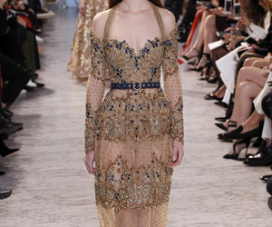 fashion, elie saab, and dress image