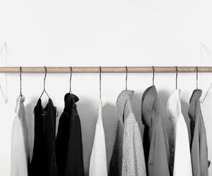 closet, clothes, and clothing image