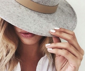 fashion, hat, and girl image