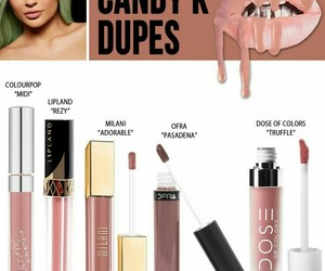 dupe, makeup, and candy k image