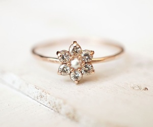 flowers, ring, and accessories image