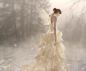fantasy, fashion photography, and ball gown image