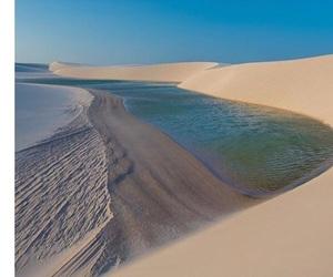 blue, brazil, and desert image