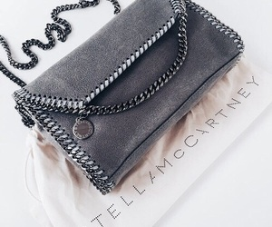 bag, stella mccartney, and grey image