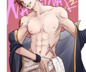 anime, boy, and natsu image