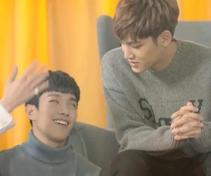 DK, mingyu, and wonwoo image